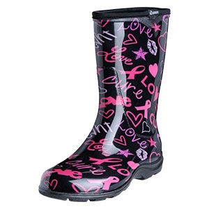 Sloggers HOPE Print Women&39s Rain Boots Waterproof comfortable and
