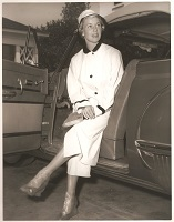 Doris Day wearing Drizzle Boot by Sloggers