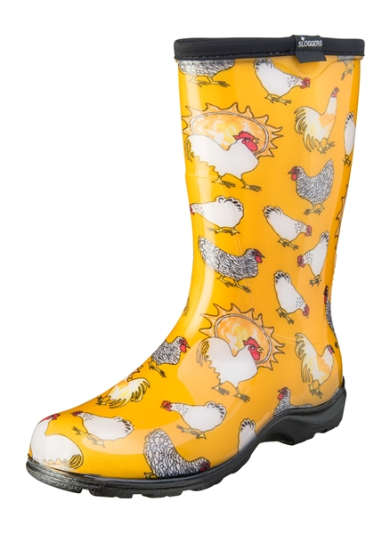 Fashion Rain Boots By Sloggers Waterproof Comfortable